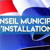 Conseil Municipal d'installation du 25 Mai 2020 - Phase 5