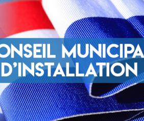 Conseil Municipal d'installation du 25 Mai 2020 - Phase 1