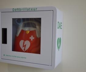 Deux défibrillateurs supplémentaires