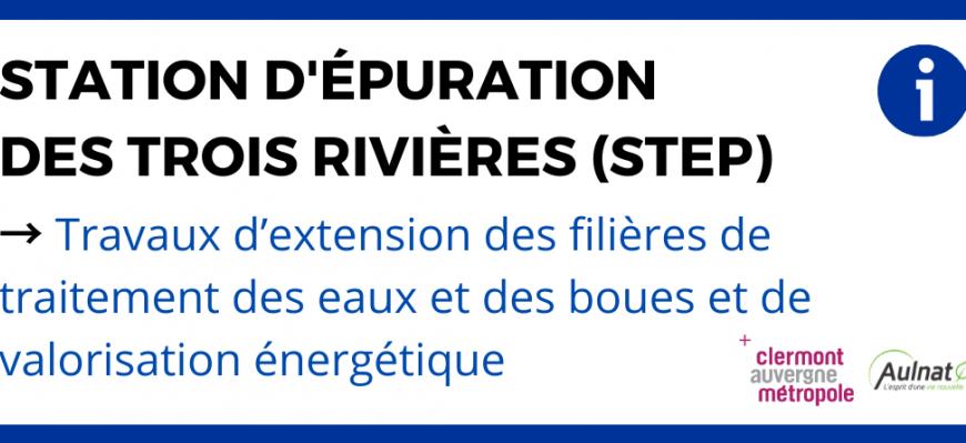 [ STATION D'ÉPURATION DES TROIS RIVIÈRES (STEP) ]