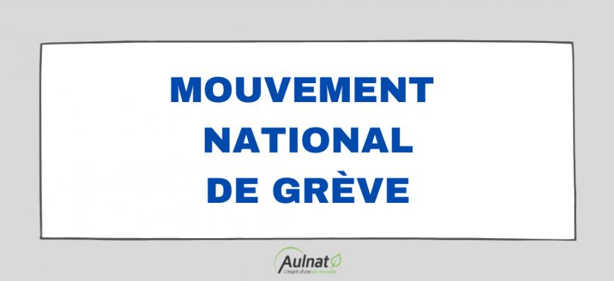 [ MOUVEMENT NATIONAL DE GRÈVE ]