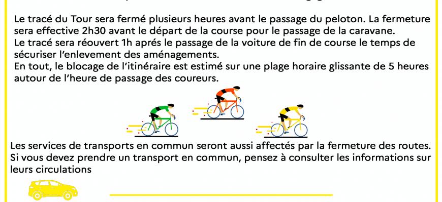 Tour de France - point circulation